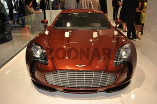 Aston Martin auf der IAA 2011
