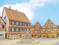Marktplatz Waldenbuch, Landkreis Böblingen