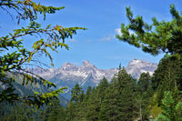 Lechtaler alps, Hornbachkette, Austria, Tyrol,