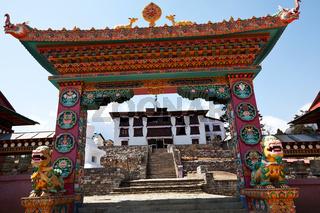 Buddist gate