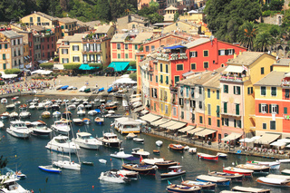 View on Portofino, Italy.