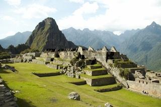 Incas city Machu-Picchu