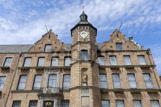 Rathaus, Duesseldorf, Nordrhein-Westfalen, Deutschland, Europa