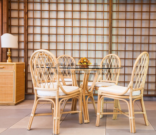 Luxury Wicker Interior