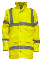 Isolated Yellow Hi-Vis Jacket