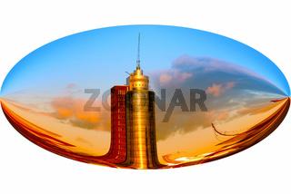 Tower in der Hafencity