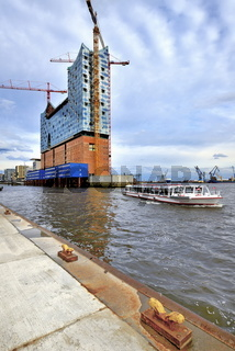 Hafenrundfahrt an der Elbphilharmonie Hamburg