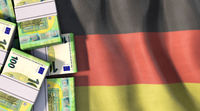 Symbolic image on the topic of Germany and money.