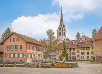 Evangelisch reformierte Kirche Schleitheim, Schweiz