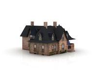 Puppenhaus aus Pappe