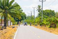 Panama Armuelles Chiriqui province, street life