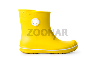 Yellow women boots