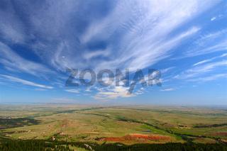 Wyoming Countryside Scenery