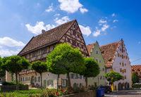 Historic houses in Noerdlingen