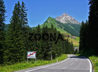 Biberkopf bei Warth, Allgäuer Alpen,