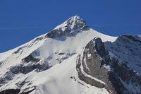 Peak of Mount Oldehore, Switzerland.