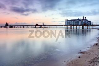 Die Seebrücke von Sellin an der Ostsee