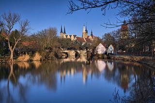 Stadtansicht Merseburg.
