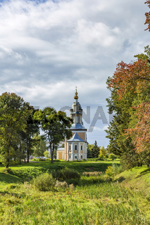 Kazan Church of the 19th century in the city of Uglich, Russia