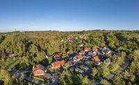 Luftbilder aus Harzgerode Silberhütte im Selketal