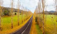 Gould Memorial Drive in Marysville in Australia