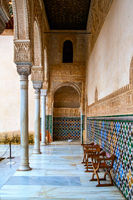 Gallery in the Alhambra