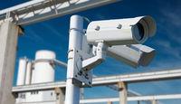 Video surveillance of company premises