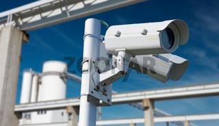 Videoüberwachung von Betriebsgelände