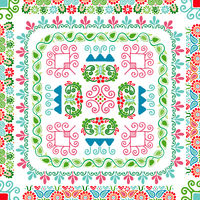 Hungarian embroidery pattern 102