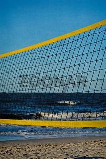 Beach Volleyball, Hochformat