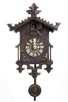 Black Forest Cuckoo Clock isolated