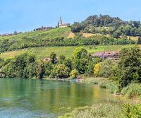 High-Rhine Buchberg-Rüdlingen, Canton of Schaffhausen, Switzerland