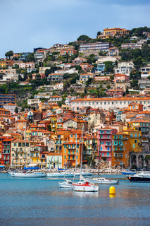 Villefranche Sur Mer Town On French Riviera