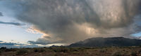 Desert Landscape: Supercell over Sandia Mountains