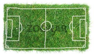 Doodle Soccer Field