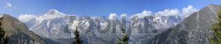 Mont Blanc Massiv