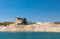 A gravel plant in Bavaria, Germany
