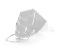 KN95 face mask. FFP2 mask as covid-19 protection. Coronavirus mask.