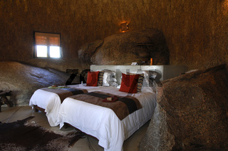 Interieur einer Namakwa Mountain Suite, Naries