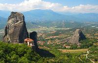 Meteora Valley of monasteries, Greece