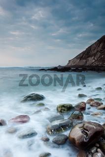 Sea in Barrika, Bizkaia, Basque Country, Spain
