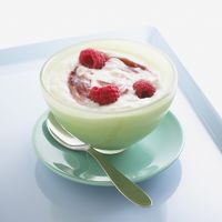 Yogurt with Raspberries bxp159847h