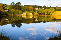 Clouds in the lake - Daylesford