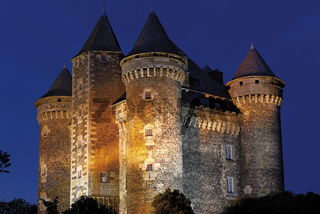 Frankreich: Chateau de Bousquet in Laguiole