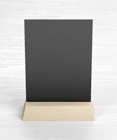 Blank menu holder