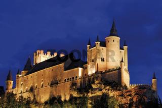 Spanien: Alcazar von Segóvia