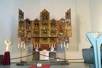 Antwerpener Schitzaltar von 1524 - evangelische Altstädter Nikolaikirche
