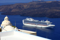 Seascape, Santorini, Cyclades Islands, Greece