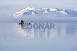 Dot Island im Yellowstone Lake