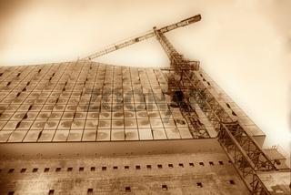 Elbphilharmonie im  Bau